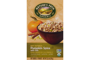 Nature's Path Organic Oatmeal Pumpkin Spice with Chia Packets - 8 CT