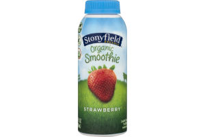 Stonyfield Organic Smoothie Strawberry