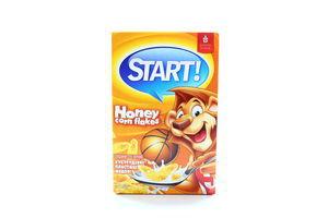 Хлопья кукурузные медовые Start! 90г