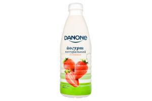 Йогурт 1.5% питний Полуниця Danone п/пл 800г