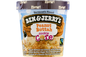Ben & Jerry's Ice Cream Peanut Buttah Cookie Core