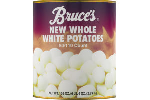 Bruce's New Whole White Potatoes, 90/110 Count