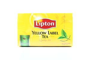 Чай Yellow Lipton 50*2г 100г