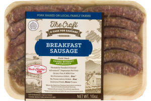 Uncle Charley's Sausage Co. The Craft Breakfast Sausage Links