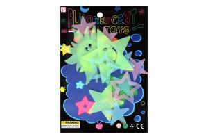 Набор Звезды Фигурки что светятся Y01