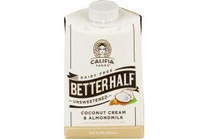 Califia Farms Dairy Free Betterhalf Coconut Cream & Almondmilk