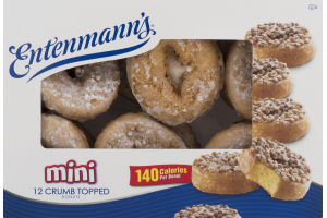Entenmann's Mini Crumb Topped Donuts - 12 CT