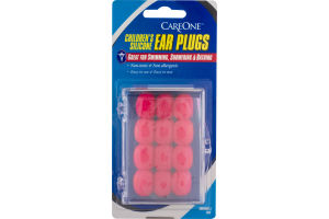 CareOne Children's Silicone Ear Plugs - 12 CT