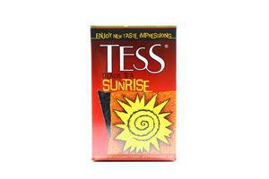 Чай черный цейлонский крупнолистовой TESS 100г