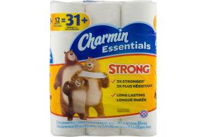 Charmin Essentials Bathroom Tissue Giant Rolls - 12 CT