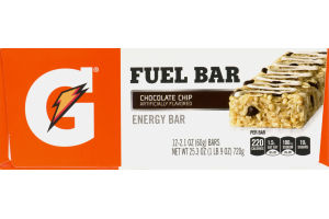 G Fuel Bar Chocolate Chip - 12 CT