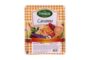 Салат из морской капусты и перца Грінвіль п/у 350г