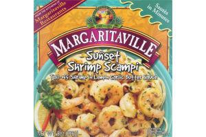Margaritaville Sunset Shrimp Scampi