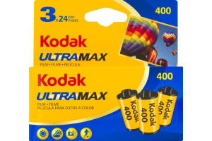 Kodak 400 UltraMax Film - 3 CT