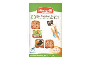 Тосты Diatosta Minigrill пшеничные из цельн зерна