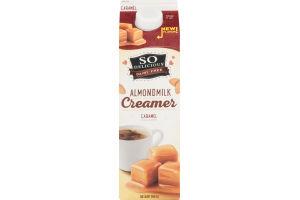 So Delicious Dairy Free Almondmilk Creamer Caramel