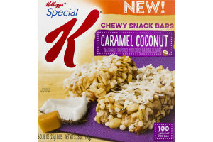 Kellogg's Special K Chewy Snack Bars Caramel Coconut - 6 CT