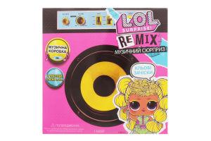 Набір ігровий для дітей від 3років №566960 Музичний сюрприз Remix Hairflip L.O.L. Surprise! 1шт