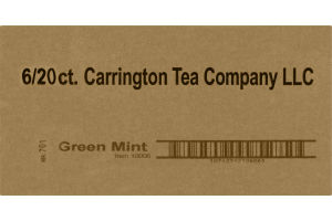 Carrington Tea Green Mint - 6/20CT