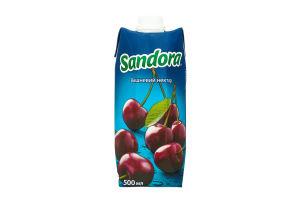 Нектар вишневый осветленный Sandora т/п 500мл