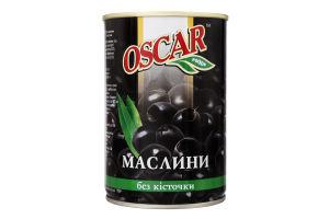 Маслини без кісточки Oscar з/б 432мл