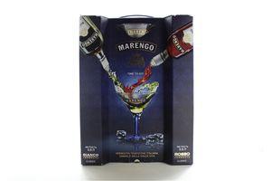 Вермут 0,5 16% Bianco+Rosso Marengo+2бокала