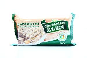 Халва Дружковская с арахисом м/у 200г