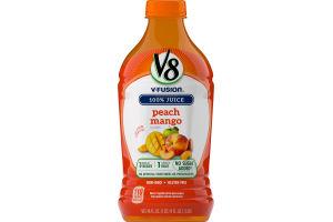 V8 V-Fusion 100% Juice Peach Mango