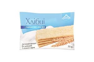 Хлебцы пшенично-овсяные хрустящие диетические Лавка здоров'я м/у 75г