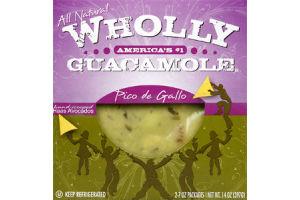 Wholly Guacamole Pico de Gallo All Natural Hand-Scooped Haas Avocados