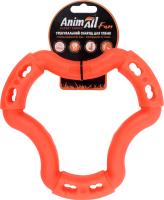 Снаряд тренировочный для собак 20см оранжевый №88222 Кольцо Fun AnimAll 1шт