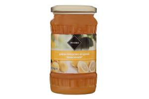 Джем плодово-ягодный пастеризованный Лимонный Rioba с/б 430г