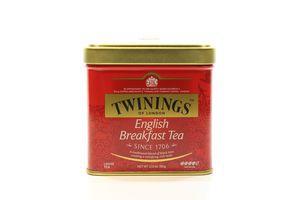 Чай Twinings English Breakfast Tea ж/б 100г х6