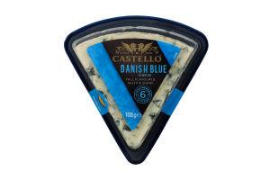Сир Arla Castello Danablu блакитна пліснява 50% 100г Данія