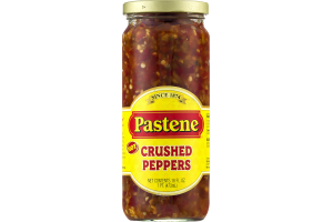 Pastene Crushed Peppers Hot