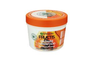 Маска для волос Папайя Superfood Восстановление Fructis Garnier 390мл