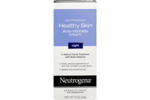Neutrogena Healthy Skin Anti-Wrinkle Cream for Night