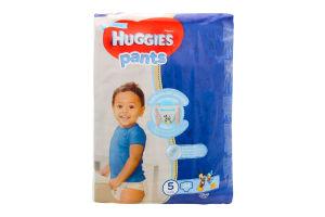 Трусики-підгузники huggies 5, 34шт Хлопчики