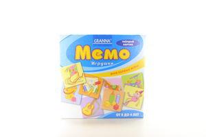 Гра настольная Гранна Мемо Игрушки Lego