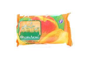 Мыло туалетное Абрикос и Апельсин Флора Люкс 70г