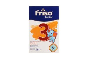 Молочко Friso Junior дитяче 3 від 1 до 3р. 700г x6