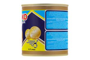 Молоко сгущенное 8.5% цельное с сахаром Первомайський МКК ж/б 370г
