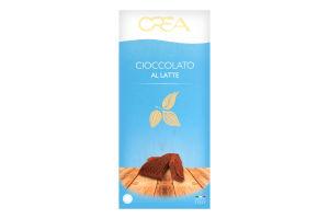 Шоколад молочний з вершками Crea к/у 100г