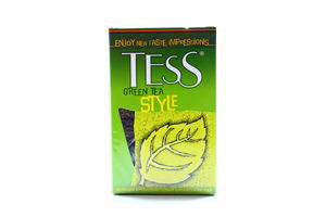 Чай зеленый крупнолистовой Style Tess 100г