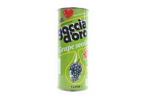 Масло из виноградных косточек рафинированное дезодорированное Goccia D'oro 1л