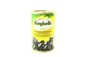 Маслины с косточкой Bonduelle ж/б 300г