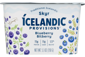 Icelandic Provisions Skyr Blueberry With Bilberry