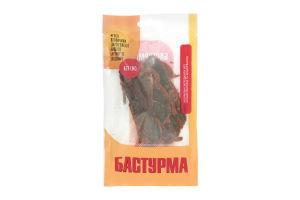 Бастурма из говядины высшего сорта со специями Гела-2015 с/в м/у 50г