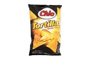 Чипсы Chio Tortilla chips nacho cheese 125г