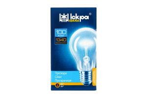 Лампа електрична прозора Іскра А55-230в 100вт Е27